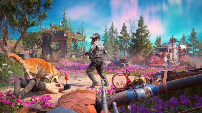 Systeemeisen bekend van Far Cry: New Dawn