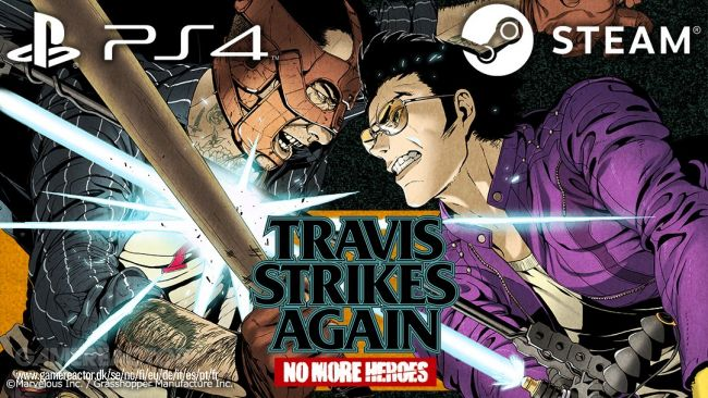 Travis Strikes Again: No More Heroes komt naar pc en PS4