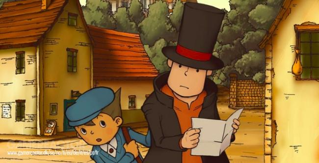 Professor Layton and the Curious Village op iOS en Android