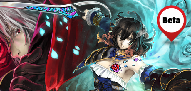 Bloodstained: Ritual of the Night op PS4 Pro in 4K met 60 fps