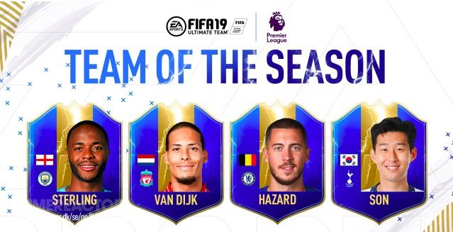 Premier League Team of the Season nu beschikbaar in FIFA 19