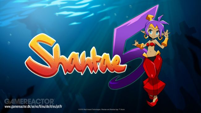 Shantae 5 onthuld voor pc, PS4, Xbox One, Switch en Apple Arcade