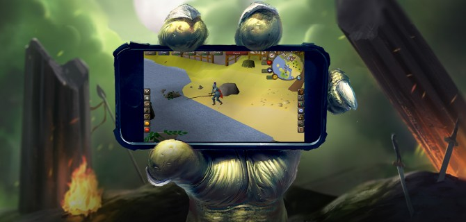 RuneScape Mobile hands-on