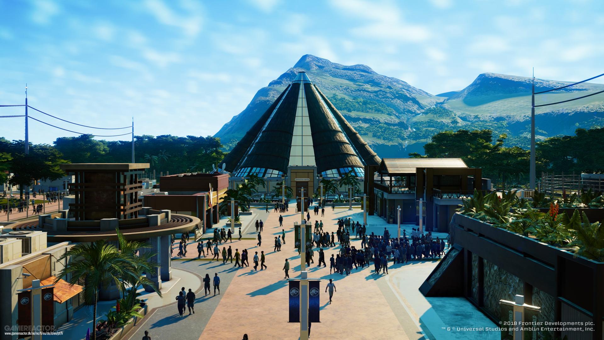 jurassic world evolution ps4 gameplay