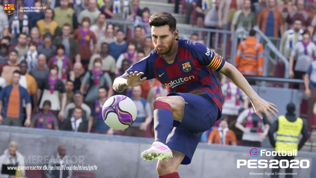 eFootball PES 2020 hands-on