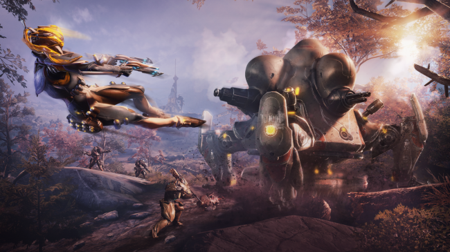 Warframe's Plains of Eidolon Remaster landt op de console