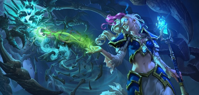 Knights of the Frozen Throne voor Hearthstone aangekondigd