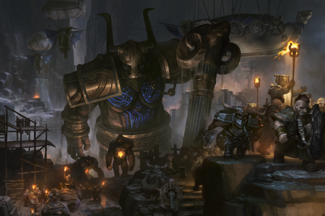 SpellForce 3: Soul Harvest-trailer toont de Dwarves