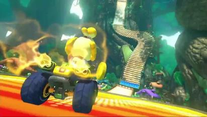 Mario Kart 8 - DLC Pack 2 Wild Woods Trailer