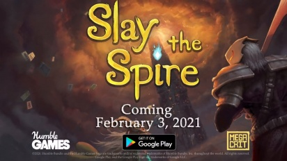 Slay the Spire   Android Release Date Trailer