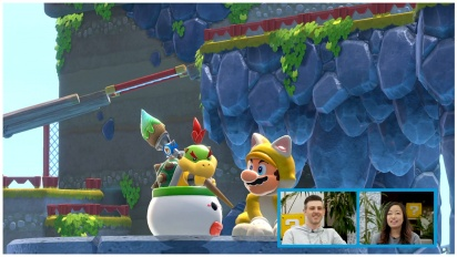 Super Mario 3D World + Bowser's Fury - Co-op Gameplay