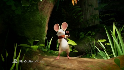 Moss - PlayStation VR Gameplay Announcement Trailer