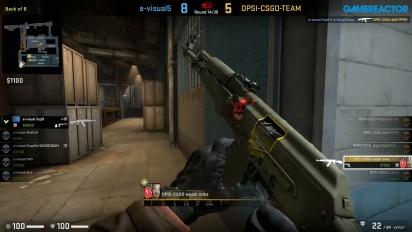 CS:GO S2 - Div 7 Round 1 - evisual vs OPSI - Train