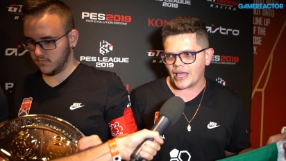 PES League World Finals 2019 - Co-Op Champions Interview