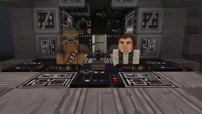 Minecraft - Explore the Star Wars Galaxy Trailer