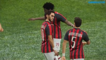 Pro Evolution Soccer 2019 - Inter vs. Milan Gameplay