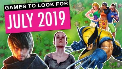 Games om naar uit te kijken - Juli 2019