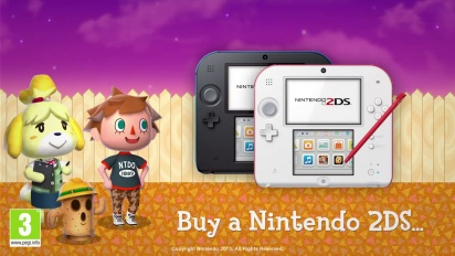 Animal Crossing: New Leaf - 2DS Special Offer Trailer
