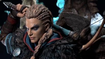 PureArts Studio - Assassin's Creed Valhalla Animus Eivor 1/4 Scale Statue Trailer