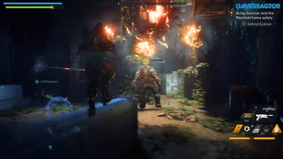 Anthem - Saving Matthias Demo Gameplay on PC