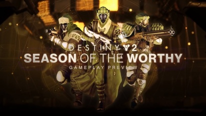 Destiny 2: Season of the Worthy - Gameplay Preview