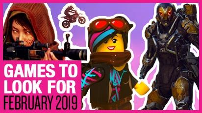 Games om naar uit te kijken - Februari 2019