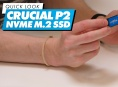 Crucial P2 NVMe M.2 SSD - Quick Look