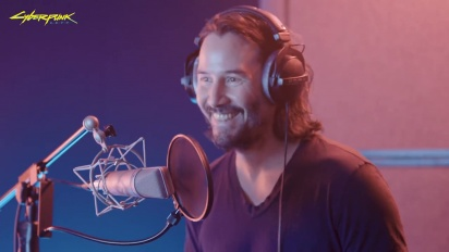 Cyberpunk 2077 - Behind the Scenes with Keanu Reeves