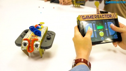 Nintendo Labo: Variety Kit - RC Car Toy-Con Assembly and Gameplay