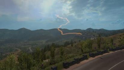 Euro Truck Simulator 2 - Road to the Black Sea DLC Trailer