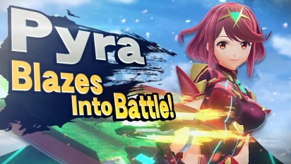 Super Smash Bros. Ultimate - One Day, Pyra Just Disappeared