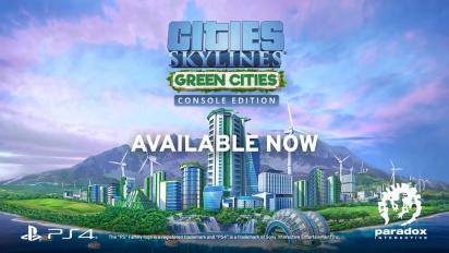 Cities: Skylines - Green Cities Release Trailer