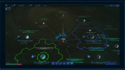 Sid Meier shows off Starships, his new tactical strategy game