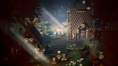 Octopath Traveler - Paths of Noble Acts and Rogue Decisions Info Trailer