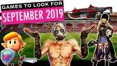 Games om naar uit te kijken - September 2019