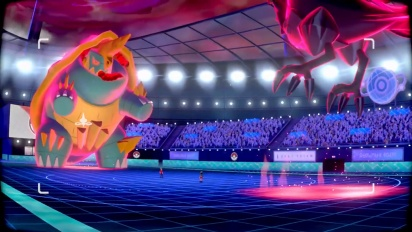 Pokémon Swordand Pokémon Shield - Gigantamaxing Trailer