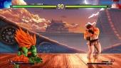 Street Fighter V: Arcade Edition - Blanka vs Ryu SFII Path Gameplay