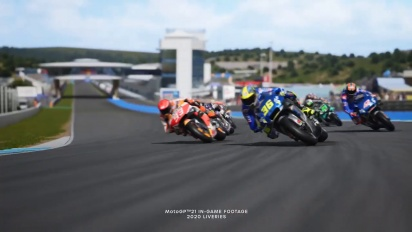 MotoGP 21 - Announcement Trailer