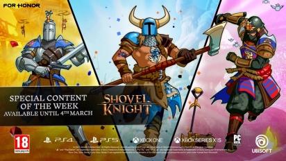For Honor - Shovel Knight Collaboration Trailer