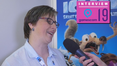 Ice Age: Scrat's Nutty Adventure - Natalie Griffith Interview