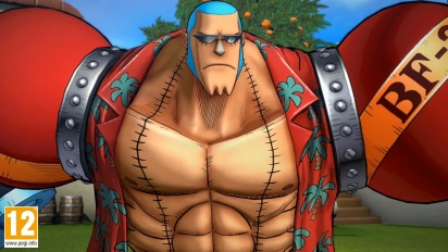 One Piece: Burning Blood - Franky Move Set - Trailer