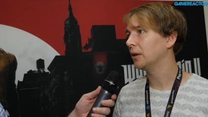 Wolfenstein II: The New Colossus - Tommy Tordsson Björk Interview
