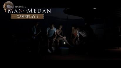 The Dark Pictures Anthology: Man of Medan - BBQ Gameplay