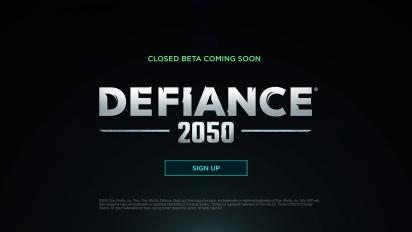 Defiance 2050 - Announcement Dev Update