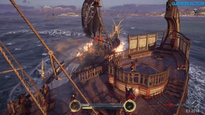 Assassin's Creed Odyssey - Naval Combat Gameplay