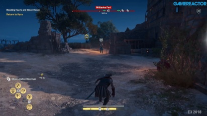 Assassin's Creed Odyssey - Fort Combat Gameplay