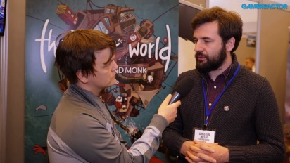The Inner World: The Last Wind Monk - Sebastian Mittag intervjuad