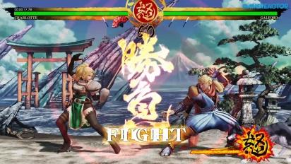 Samurai Shodown - Charlotte Story Gameplay