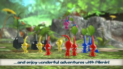 Pikmin 3 Deluxe - 'What are Pikmin' Trailer