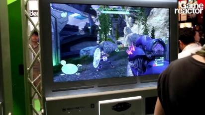 TGS 11: Halo: Combat Evolved Anniversary Gameplay